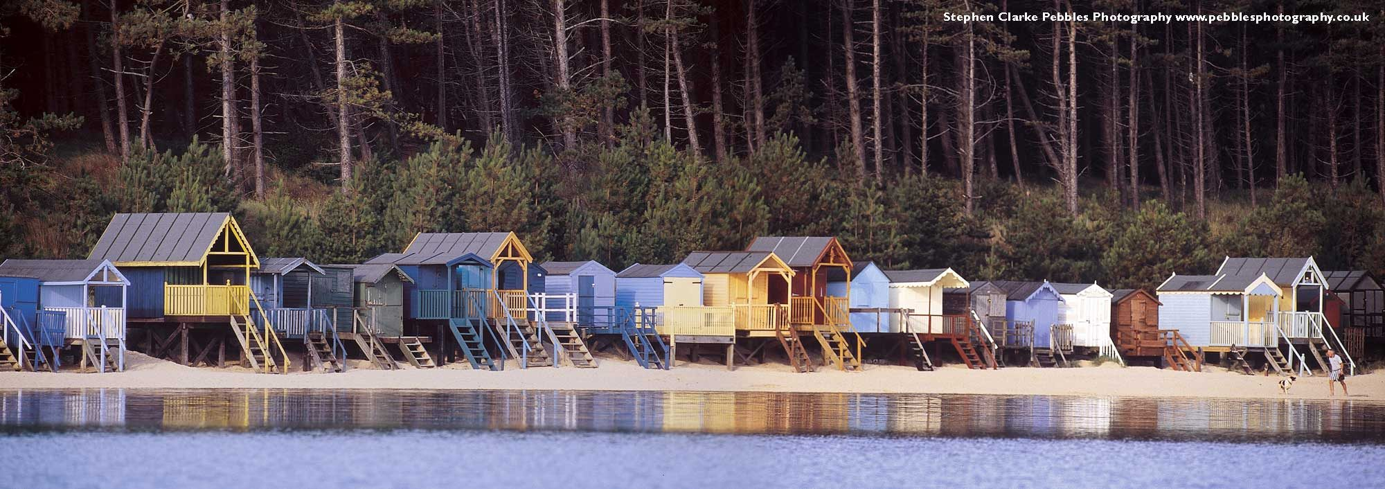 Background image of Beach huts at Wells
